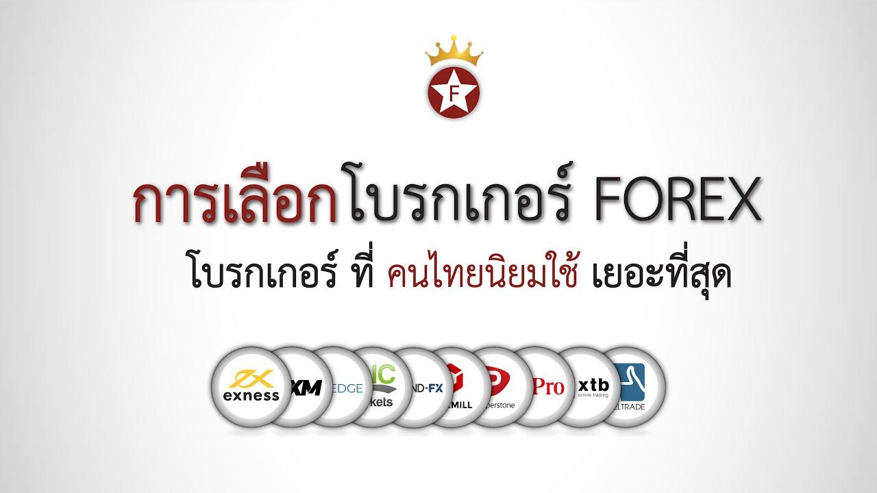การเลือกโบรกเกอร์ Forex สำหรับเทรดเดอร์คนไทย – ThaiBrokerForex
