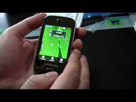 Samsung B5722 Dual Sim Review HD ( in Romana ) - www.TelefonulTau.eu -