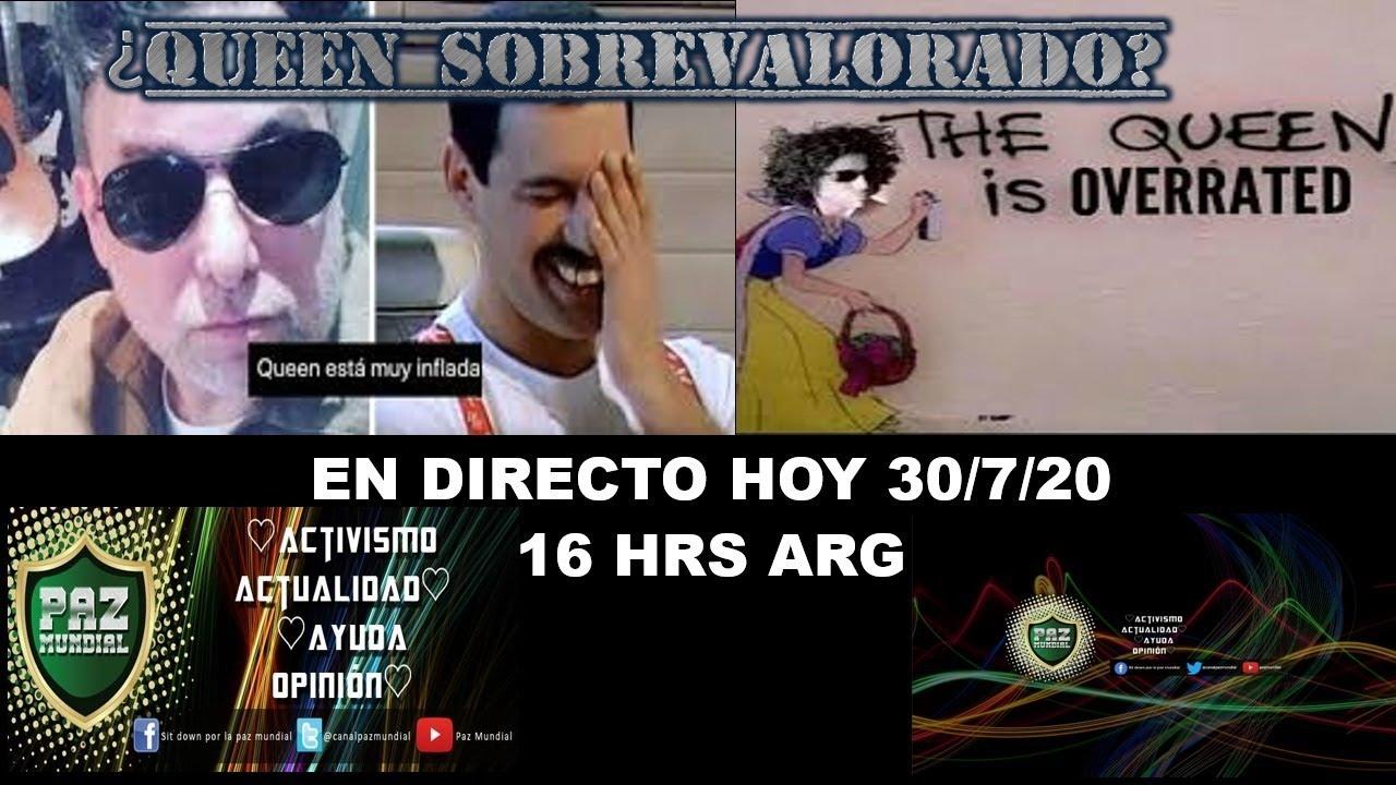 #QUEEN LA BANDA MAS SOBREVALORADA DE LA HISTORIA SEGÚN #CALAMARO. LE RESPONDEMOS. PARTE 1