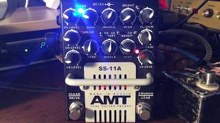 AMT SS-11a Tube Guitar Preamp Demo