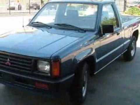 1989 Mitsubishi Mighty Max Sport Truck - Columbia, SC - YouTube