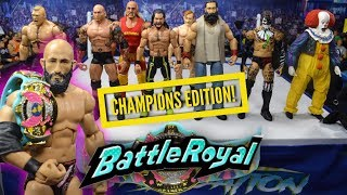 WWE ACTION FIGURE BATTLE ROYAL! CHAMPIONS EDITION!