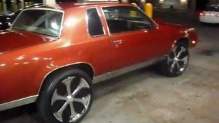 "G-Body Oldsmobile Cutlass On 24"" Davin Onyx"