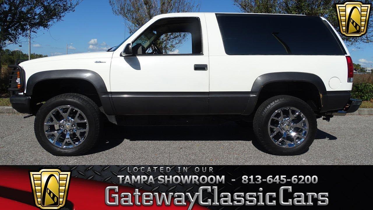 1059-TPA 1994 Chevrolet K 1500 Blazer 5.7L V8 TBI OHV 16V ...