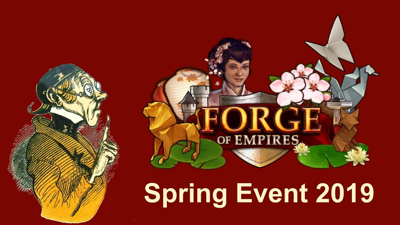 Forge Of Empires Spring Event 2020.Foehints Spring Event 2019 In Forge Of Empires