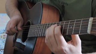Гитара. Чёрный ворон (русская народная песня) - Russian folk song guitar cover