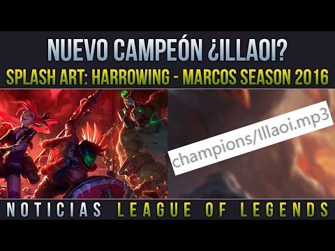 ¿Nuevo Campeón: Illaoi? - Splash Art: Skins Harrowing | Noticias LOL