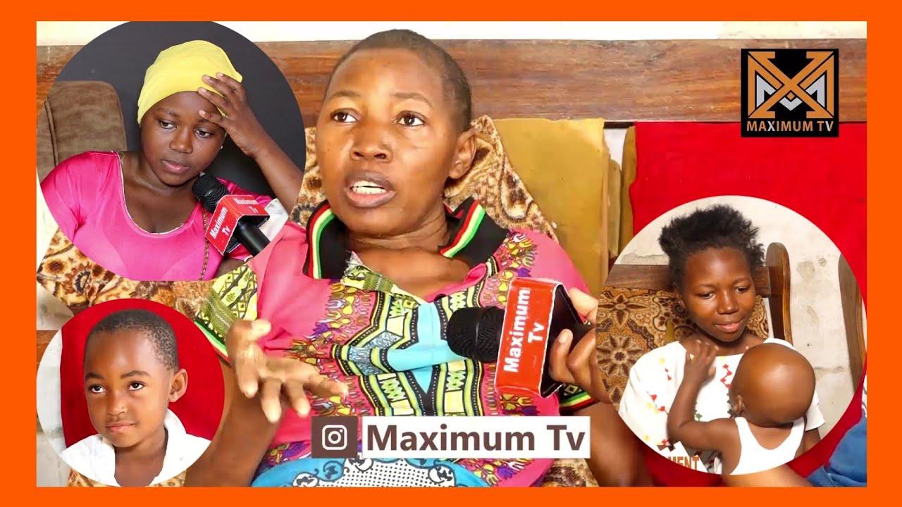 MAMA HAPPY KAWEZA KUKAA KWA MARA YA KWANZA  FAMILIA YA WATU 8 CHUMBA KIMOJA MAMA HIV BINTI MIMBA