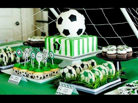 DIY SOCCER PARTY IDEAS   50 Ideas para fiesta de fútbol - YouTube aebec63677881