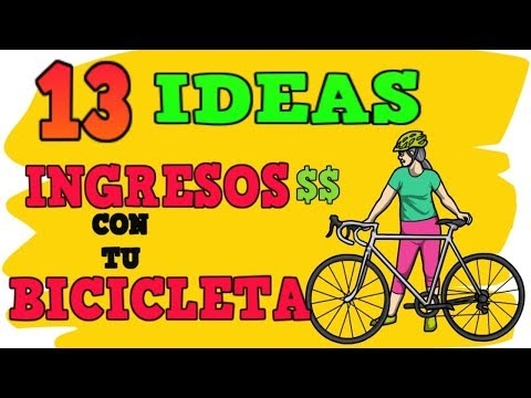13 IDEAS PARA TENER DINERO CON TU BICICLETA