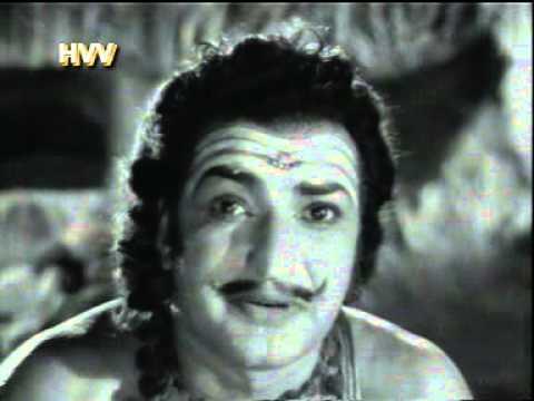 Sr NTR's Sri Sita Rama Kalyanam Song in Which RAVANA BRAMA Lifts the KAILASHA GIRI MOUNTIAN