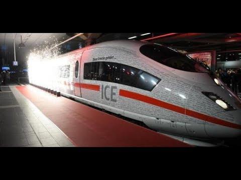 Erster Zug = Erste Panne: Gleich Verspätung bei neuer ICE-Schnellstrecke Berlin-München