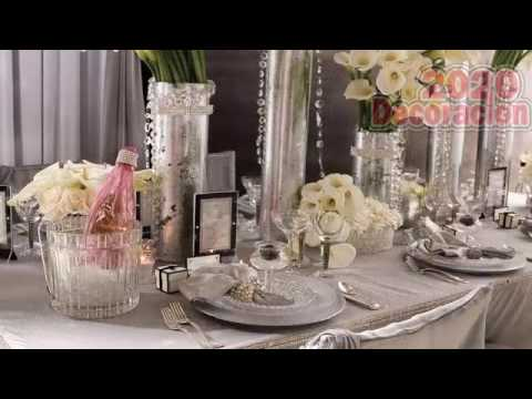 af8a3edec Decoracion Para Bodas De Plata - YouTube