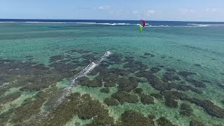 Experience the ultimate Kitesurf spot, in the Southern coast of Mauritius