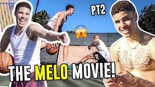 The LaMelo Ball MOVIE Part 2! BREAKING Larry's Ankles, Playing Vs Zion, Overtime Challenge & More 😱