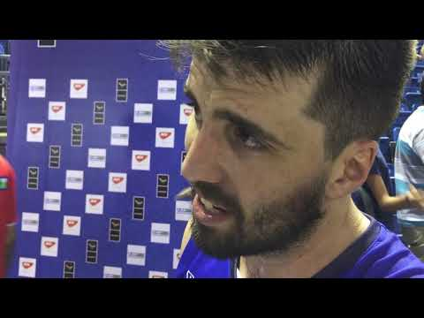Intervista ad Ariel Filloy post Ungheria-Italia#ItalBasket #basket #FIBAWCQ - UkusTom