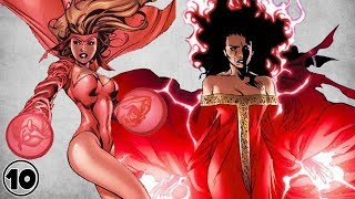 Top 10 Alternate Versions Of Scarlet Witch