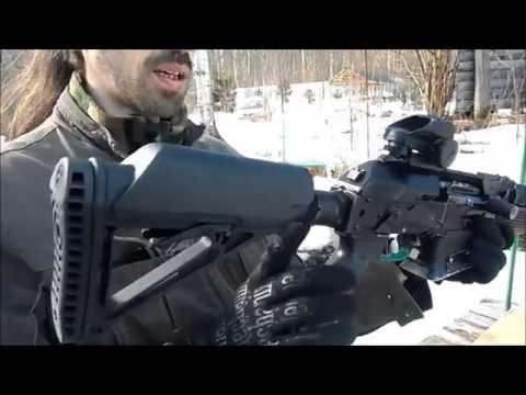 Вепрь-12 Молот. ВПО-205. Тюнинг от Фрезера. Vepr 12 Shotgun.