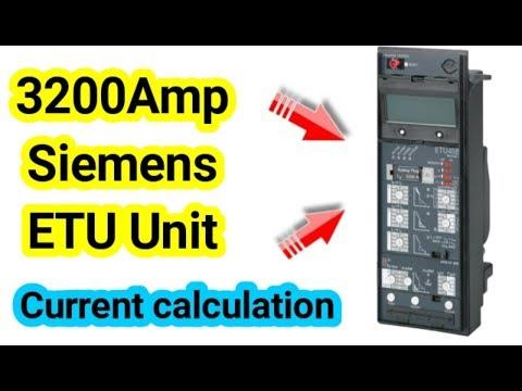 Siemens ETU Electronic tripping Unit Siemens ACB ETU45