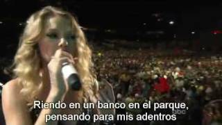 You Belong With Me - En Vivo - Sub Titulado - Español - HQ thumbnail