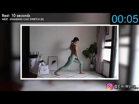 20 min Full Body Stretch for Flexibility, Reducing Bloating, Pain Relief & Recovery ◆ Emi ◆