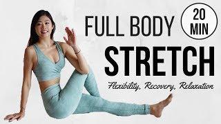 【20分鐘全身拉筋伸展】消除痠痛和疲勞, 去水腫, 改善睡眠, 舒緩壓力 (運動前後/ 睡前可做) ◆ Emi ◆