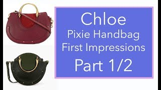 NEW! Chloe Pixie Handbag Unboxing and First Impressions