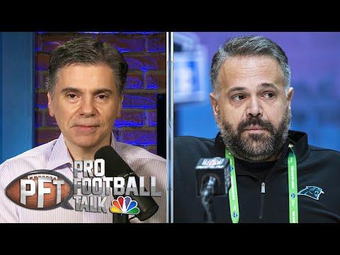 Carolina Panthers coach Matt Rhule has work cut out in first year | Pro Football Talk | NBC Sports