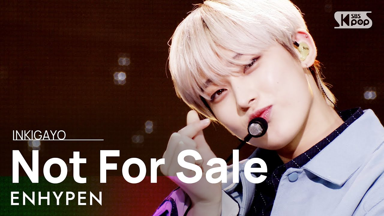 Download ENHYPEN(엔하이픈) - Not For Sale @인기가요 inkigayo 20210502