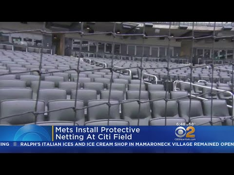 Mets Install Protective Netting At Citi Field