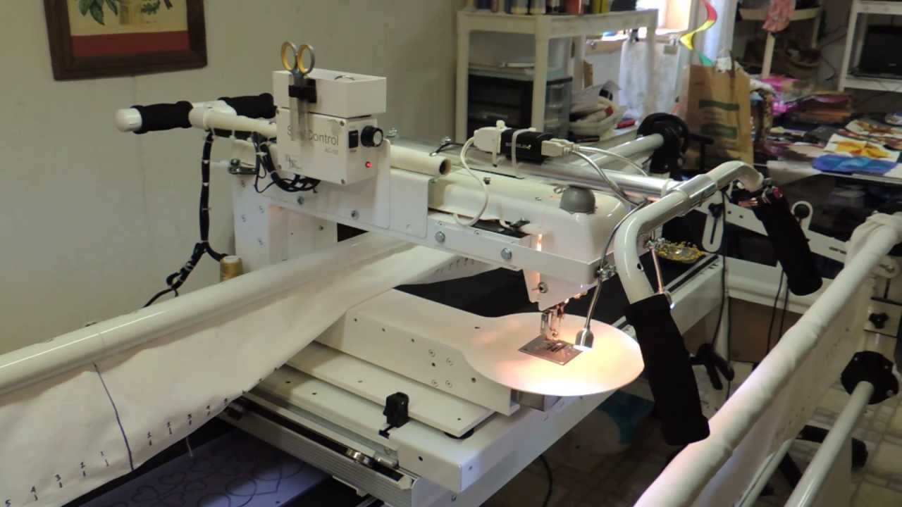 Bailey's Home Quilter 17E - YouTube : bailey quilting machine for sale - Adamdwight.com