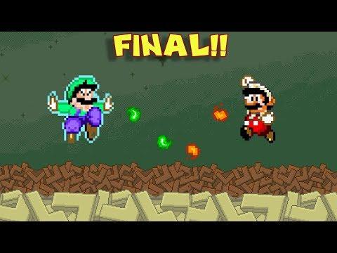 Pelea de Hermanos !! - Jugando Brutal Mario con Pepe el Mago (FINAL)