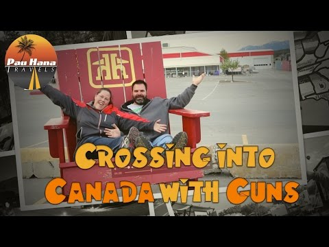 RVing North To Alaska: Crossing The Canadian Border Legally With Guns, How You Can Too!