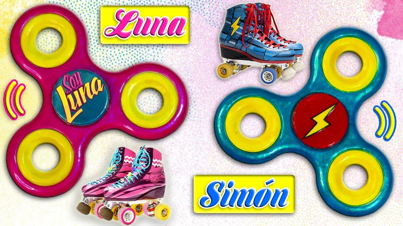 DIY Fidget Spinner Reversible I AM LUNA and Simn  Matteo