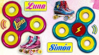 "♥ DIY: Fidget Spinner Reversible ""I AM ​​LUNA"" and Simón ó Matteo ♥"