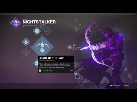 Destiny 2 - Part 35 - Shard of the Traveler -  Hunter Subclass - Nightstalker