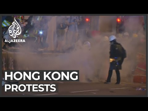 Anti-government Sentiment Persists In Hong Kong