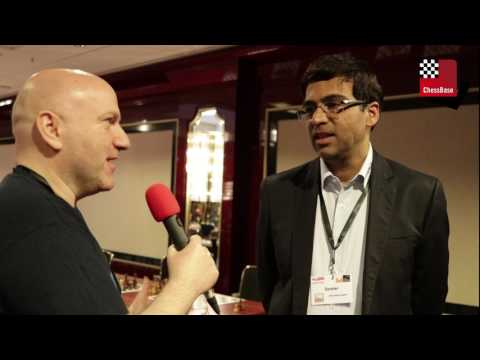 Schachbundesliga Finale 2017 - Interview with Viswanathan Anand