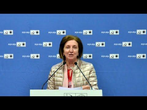 Deolinda Machado : Acto Público CDU