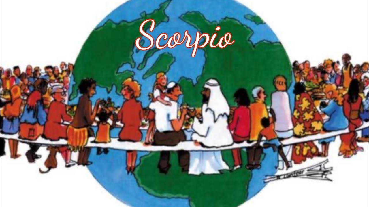 """SCORPIO """"REMAIN OPTIMISTIC AS YOU FOCUS ON YOURSELF"""" 