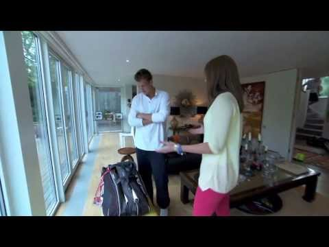 A tour of Tomas Berdych's house for Wimbledon
