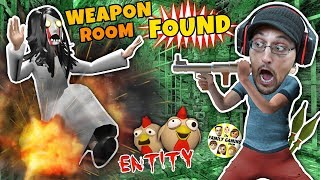 Slendrina Chickens! Secret Rooms + Slouchdrina Defeated! (FGTEEV Escapes Doofy Duddy Mode)