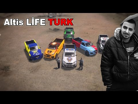 ARMA 3 Altis Life Role Play Soygun,Risk,Polisler.