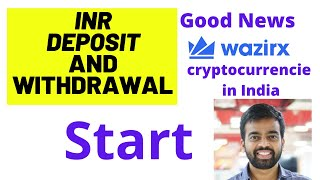INR Deposits And Withdrawals Start ? | Good News #wazirx exchange | #Bitcoin Latest news | crypto