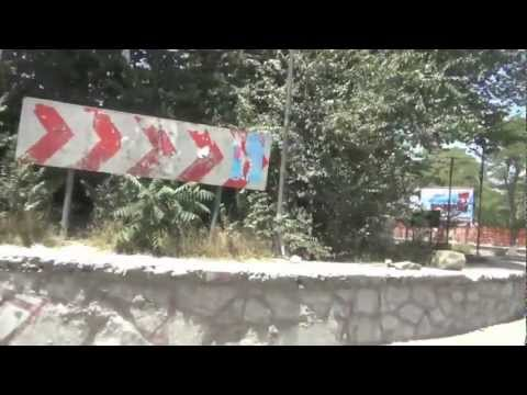 Great journey to Afghanistan: Kabul from car / Прогулка по Кабулу на машине / کابل، افغانستان