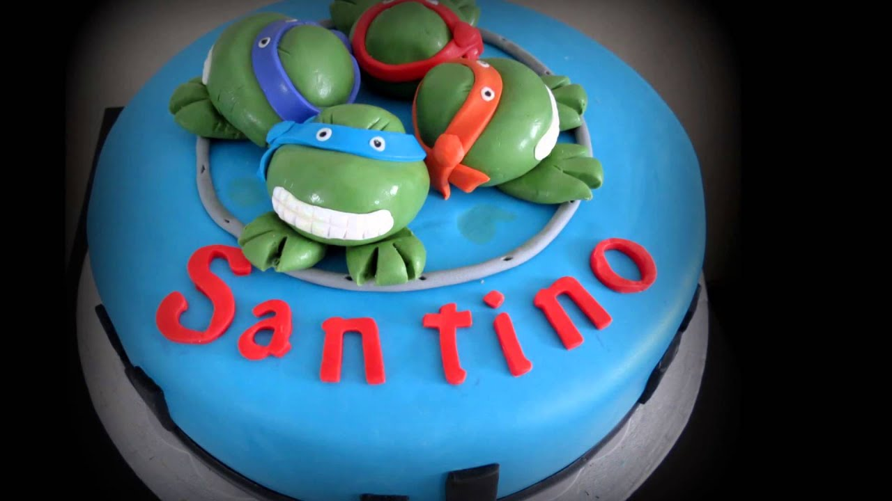 Gâteau Tortues Ninja