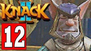 KNACK 2 Gameplay Walkthrough Part 12 THE BURIED BATTLEFIELD / RACE AGAINST TIME