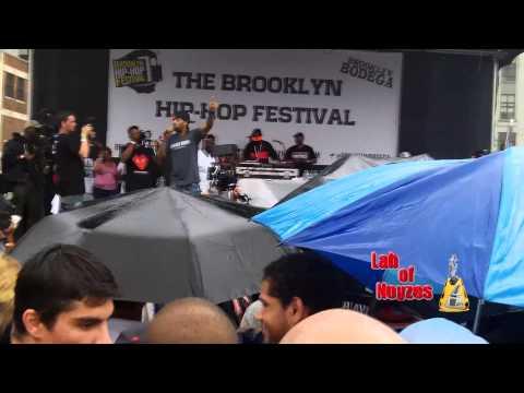 2013 07-13 Brooklyn Hip Hop Festival Redman - React - 4, 3, 2, 1 - A-Yo