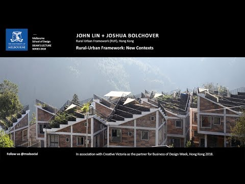 Dean's Lecture Series 2018 -  Joshua Bolchover & John Lin