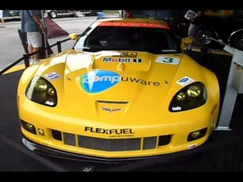 Corvette C6.R  And  Corvette ZR1 At Baltimore Grand Prix
